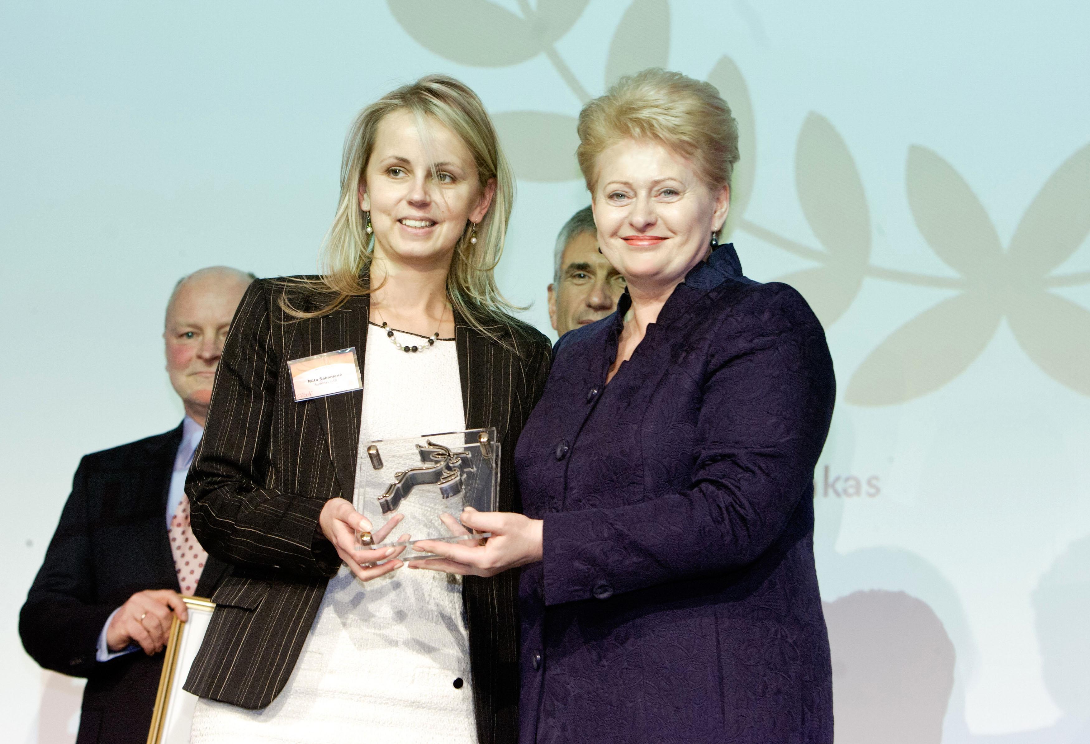 """2013.01.25 tapome nugalėtojais konkurse """"Gazelė 2012""""."""