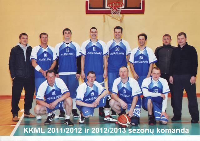 KKML 2011/2012 ir 2012/2013 sezonų komanda
