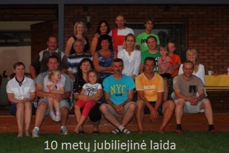 2011m. šventėme 10-ies metų Jubiliejų.